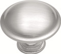 Belwith Hickory 1-1/4 In. Tranquility Satin Silver Cloud Cabinet Knob P516-SC Hardware