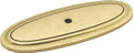 Belwith Hickory 3 In. Manor House Lancaster Hand Polished Back plate P277-LP Hardware