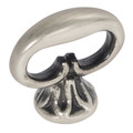 Belwith Hickory 1-1/8 In. Manor House Silver Stone Mock Key P321-ST Hardware