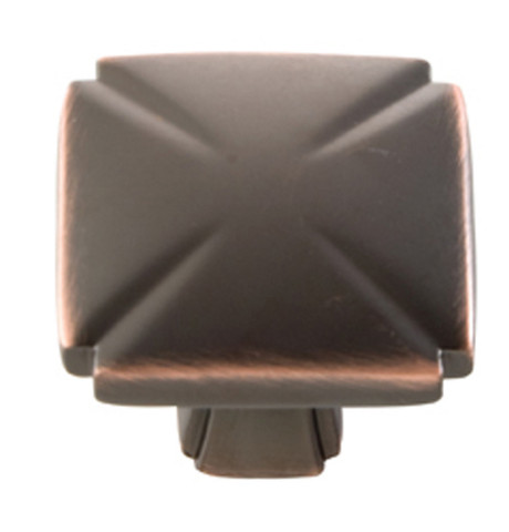 Belwith Hickory 1-3/16 In. Bridges Oil-Rubbed Bronze Cabinet Knob P3230-OBH Hardware