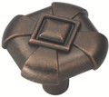 Belwith Hickory 1-1/8 In. Chelsea Dark Antique Copper Cabinet Knob P3455-DAC Hardware