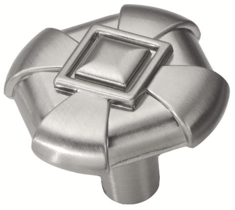 Belwith Hickory 1-1/8 In. Chelsea Stainless Steel Cabinet Knob P3455-SS Hardware