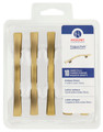 Belwith Hickory Project Pack 3 In. Cavalier Antique Brass Cabinet Pull (10 Pack) VP135-AB Hardware