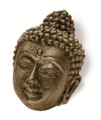 Siro Designs 100-128 Antique Brass  74Mm Knob Buddah