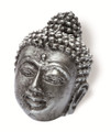 Siro Designs 100-130 Antique Silver  74Mm Knob Buddah