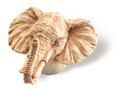 Siro Designs 100-140 Ivory  49Mm Knob Elephant Head