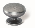 Siro Designs 40-172 Antique Iron 33Mm Knob