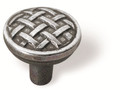Siro Designs 63-136 Bright Antique Silver 34Mm Knob