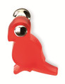 Siro Designs 80-114 Red/Bright Chrome 49Mm Parrot Knob