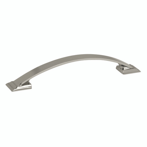 Amerock BP29364PN 160MM Cabinet Pull Polished Nickel Finish Candler Collection
