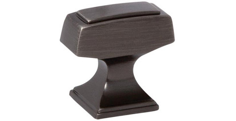 "Amerock BP53029GM 1 1/4"" Cabinet T Knob Gunmetal Finish Mulholland Collection"