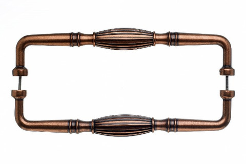 Top Knobs Appliance M1251-18 pair Tuscany D Pull Back to BackDoo