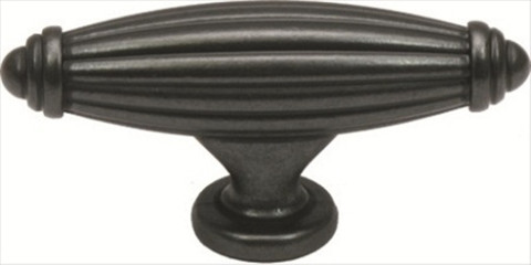 Jamison K86618Dacm Knob 65Mm Weathered Black J2 T-Pull