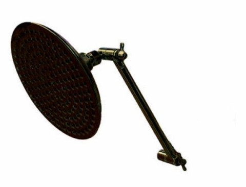 "Oil Rubbed Bronze 8"" Shower Head & 10"" Arm Kit K136K5"