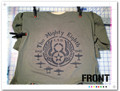 WWII 8th Air Force Hand Stenciled ODGREEN T-Shirt