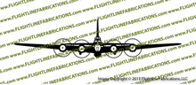 WWII Bomber B-17 g Flying Fortress Front Vinyl Die-Cut Sticker / Decal VSB17F