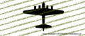WWII Bomber B-17 g Flying Fortress Top Vinyl Die-Cut Sticker / Decal VSB17T