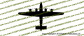 WWII Bomber B-24 j Liberator Top Vinyl Die-Cut Sticker / Decal VSB24T