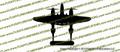 WWII Fighter P-38 Lightning Top Vinyl Die-Cut Sticker / Decal VSP38T