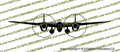 WWII Fighter P-38 Lightning Front Vinyl Die-Cut Sticker / Decal VSP38F