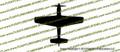 WWII Fighter P-51b / P-51c Mustang Top Vinyl Die-Cut Sticker / Decal VSP51T