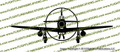 WWII Fighter P-51 d Mustang Front Gear Down Vinyl Die-Cut Sticker / Decal VSP51FGD
