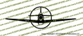 WWII Fighter P-51b / P-51c Mustang Front Vinyl Die-Cut Sticker / Decal VSP51BF