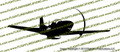 WWII Fighter P-51 d Mustang Action Vinyl Die-Cut Sticker / Decal VSP51FGA