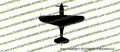WWII Fighter P-40 n Tomahawk IIa Top Vinyl Die-Cut Sticker / Decal VSP40NT