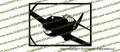 WWII Fighter P-40 b Tomahawk IIa Action Vinyl Die-Cut Sticker / Decal VSP40BA