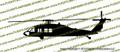 US Army UH-60 L  Black Hawk Helicopter Vinyl Die-Cut Sticker / Decal VSUH60L