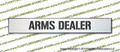 Arms Dealer Wood Sign