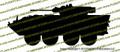 LAV-25 Amphibious Reconnaissance Vehicle Die-Cut Sticker / Decal VSLAV251