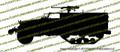 M3 Halftrack Vinyl Die-Cut Sticker / Decal VSM31