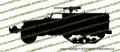 M3 Halftrack with Winch Vinyl Die-Cut Sticker / Decal VSM32