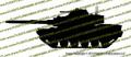 M60 Patton Tank Vinyl Die-Cut Sticker / Decal VSM601