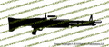 M60 Machine Gun Vinyl Die-Cut Sticker / Decal VSMG601