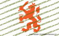 Dutch Lion Vinyl Die-Cut Sticker / Decal VSDLION1