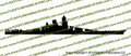 IJN Battleship Yamato 1945 Vinyl Die-Cut Sticker / Decal VSIJNY1