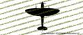 Spitfire Mark IX Top Vinyl Die-Cut Sticker / Decal VSTSMIX