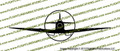 Spitfire Mark IX Front Vinyl Die-Cut Sticker / Decal VSTSMIXF