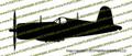 F4u Corsair Profile Vinyl Die-Cut Sticker / Decal VSTF4UP
