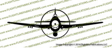 F6F Hellcat Carrier-Based Fighter FRONT Vinyl Die-Cut Sticker / Decal VSFF6F