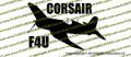 F4u Corsair Action Vinyl Die-Cut Sticker / Decal VSTF4UA