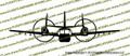 Grumman OV-1d Mohawk Front Vinyl Die-Cut Sticker / Decal VSFOV1D
