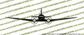 D-Day Airborne Douglas DC-3 C-47 Skytrain Dakota Front Vinyl Die-Cut Sticker / Decal VSFC471