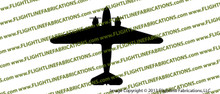 D-Day Airborne Douglas DC-3 C-47 Skytrain Dakota TOP Vinyl Die-Cut Sticker / Decal VSTC471