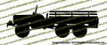 Dodge WC-63 6x6 Truck (LEFT) Vinyl Die-Cut Sticker / Decal VSPWC63L