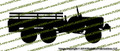 Dodge WC-63 6x6 Truck (RIGHT) Vinyl Die-Cut Sticker / Decal VSPWC63R