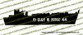 WWII D-Day LCVP Landing Craft Higgins Boat v2 Vinyl Die-Cut Sticker / Decal VSPHBV2